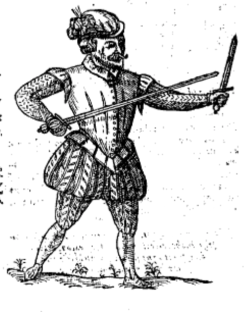 From George Silver's Paradoxes of Defence (1599)